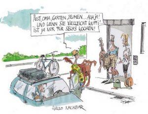 Urlaubszeit: Deutsche vertrauen auf Nachbarn